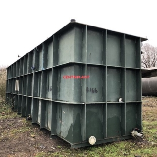 14166 - 86,000 LITRE OPEN TOP MILD STEEL TANK