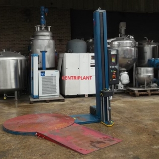 14171 - ROBOPAC PALLET STRETCH WRAPPER, MODEL ROTOPLAT 105/FRD
