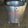 14183 - 380 LITRE STAINLESS STELL OPEN TOP WATER JACKETED TANK