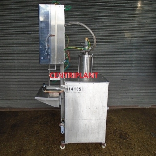 14185 - TRI TECH SINGLE HEAD SEMI AUTOMATIC 5 LITRE VOLUMETRIC FILLER