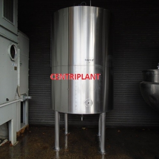 14212 - 4,000 LITRE STAINLESS STEEL MIXING TANKS