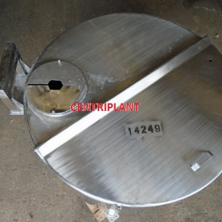 14249 - 1,350 LITRE STAINLESS STEEL OPEN TOP TANK