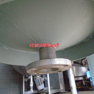14251 - 2,200 LITRE GRADE 316 STAINLESS STEEL MIXING TANK