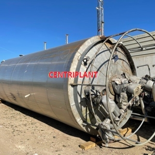 14276 - 50,000 LITRE VERTICAL STAINLESS STEEL TANK WITH ELECTRICAL TRACE HEATING