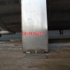 14344 - 350 LITRE HORIZONTAL STAINLESS STEEL TANK