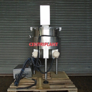 14363 - 100 LITRE JACKETED MIXING TANK