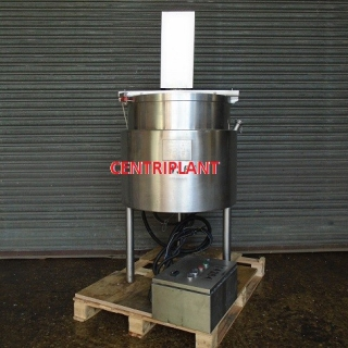 14364 - 100 LITRE JACKETED MIXING TANK