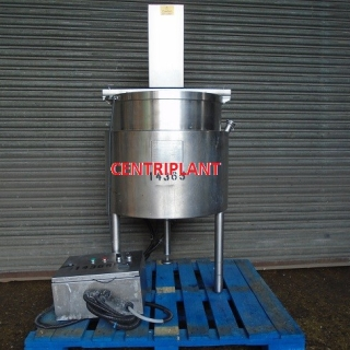 14365 - 100 LITRE JACKETED MIXING TANK