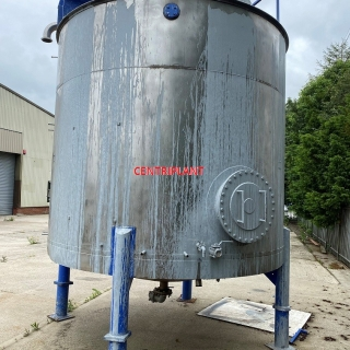 14399 - 22,000 LITRE STAINLESS STEEL MIXING TANK