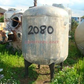 2080 - 1,130 LTR VERTICAL ST/ST STORAGE TANK