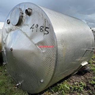 4985 - 11000 LTR ST/ST TANK CHILLED JACKET