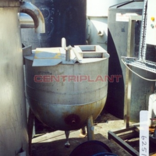 6251 - 225 LTR ST/ST STEAM JACKETED PAN