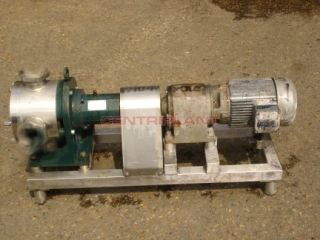 7104 - SINE ST/ST PUMP MODEL SPS03 ONNTC, 2in  RJT INLET, 3in  RJT OUTLET, REDUCTION GEARBOX 90RPM