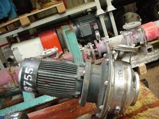 8755 - LOWARA HTS4/40/250/30 FLAME PROOF CENTRIFUGAL PUMP