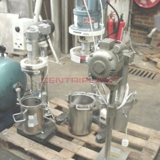 9540 - KEMWALL 8.5 LITRE STAINLESS STEEL BENCH TOP PLANETARY MIXER