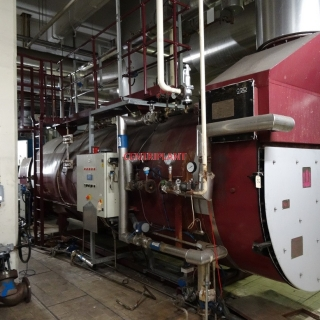 .95925 - VOLVO  750 KVA GAS GENERATOR WITH A BEEL MINSTER  WASTE HEAT BOILER
