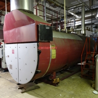 95925 - VOLVO  750 KVA GAS GENERATOR WITH A BEEL MINSTER  WASTE HEAT BOILER