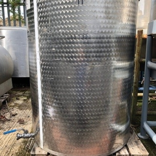 95985 - 980 LITRE STAINLESS STEEL OPEN TOP TANK
