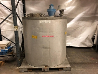 96103 - INTEG STAINLESS STEEL TRACE HEATED MIXING TANK