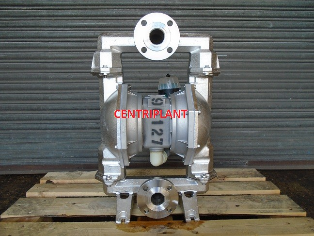 96127 - ARO STAINLESS STEEL DIAPHRAGM PUMP MODEL PM 208 CCS STT AQQ 2in  FLANGED CONNECTIONS