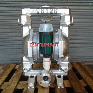 96128 - ARO STAINLESS STEEL DIAPHRAGM PUMP MODEL PM 208 CCS STT AQQ 2in  FLANGED CONNECTIONS