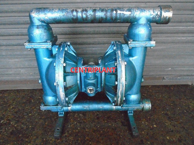 96130 - BLAGDON STAINLESS STEEL DIAPHRAGM PUMP 2in  BSP CONNECTIONS