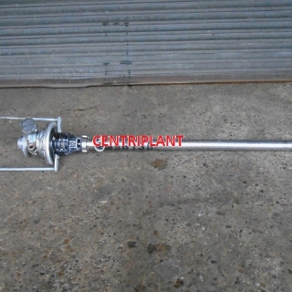 96136 - LUTZ STAINLESS STEEL ATEX RATED PNEUMATIC STICK PUMP