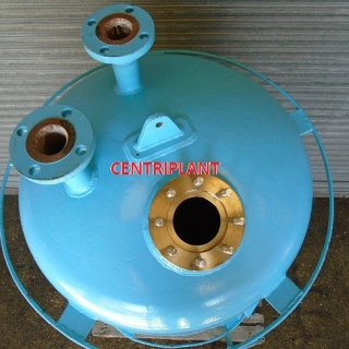 96139 - 411 LITRE STAINLESS STEEL PRESSURE AND VACUUM TANK