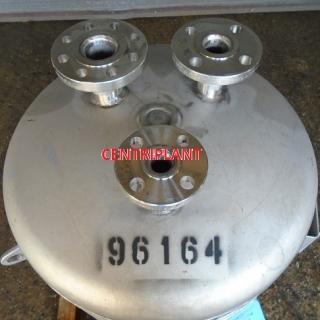 96164 - 90 LITRE STAINLESS STEEL 12 BAR PRESSURE TANK