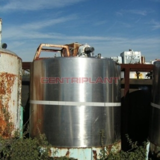 9794 - 2200 LITRE STAINLESS STEEL TANK